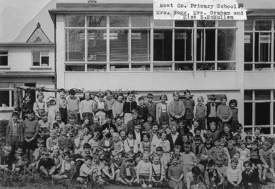 A School photograph in the 1960s