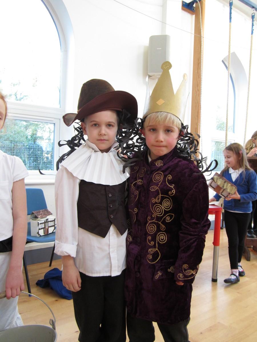 King Charles and Samuel Pepys