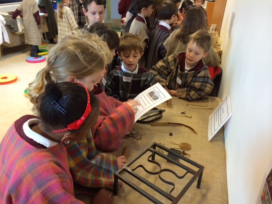 Year 3 trip to the Roman museum at St Albans