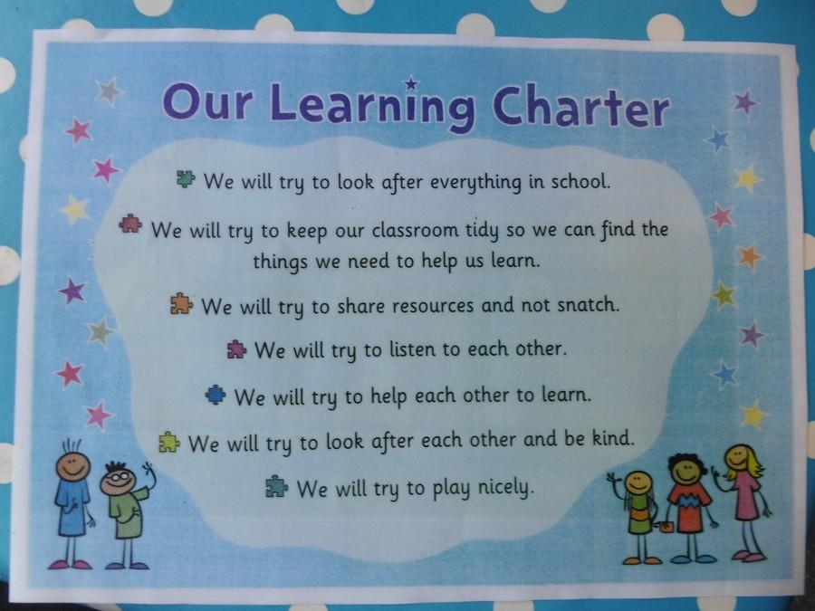 Year 1 Class Charter