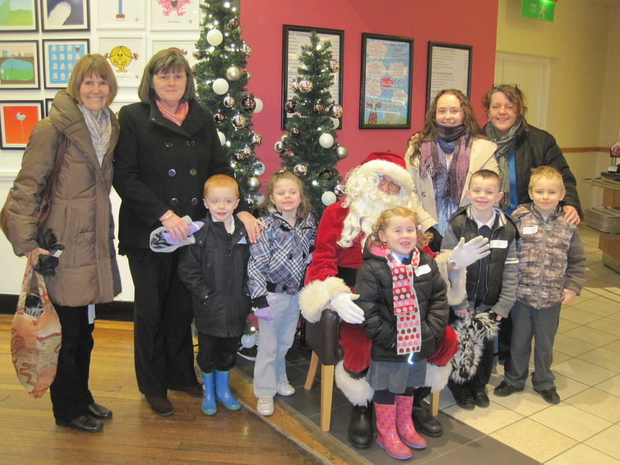 Visit to see father Christmas