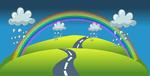 Rainbow Maths Sheets