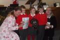 garden club children mayor laugh.JPG