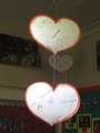 We read My Map Book by Sara Fanelli. We then made a map of our hearts which are hanging in the entrance hall.