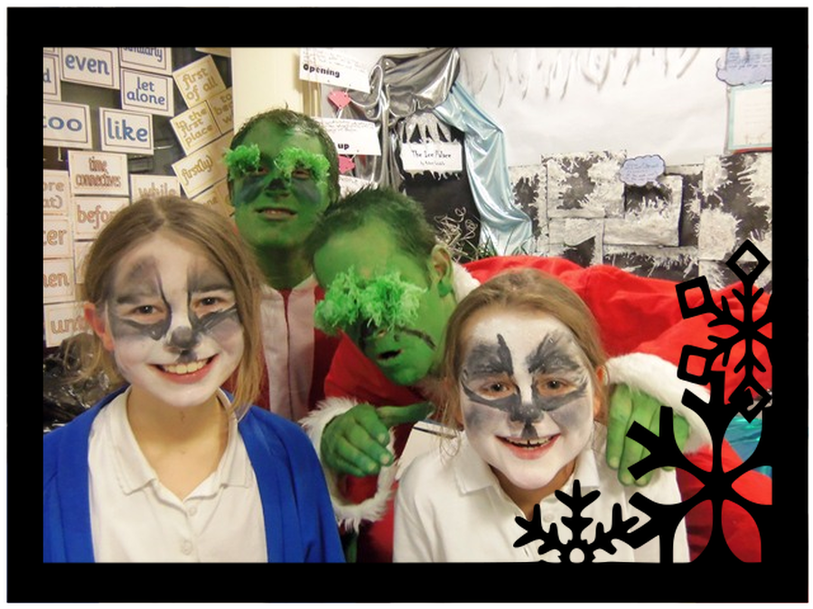 Miserable Grinches at Christmas Fayre