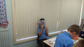 Year 3 making robot masks (1).JPG