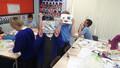 Year 3 making robot masks (21).JPG