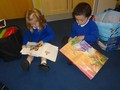 Enjoying books and stories - the foundations of literacy.