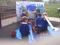 Following children's interests in boats, we made our own seascape and went on a boat journey.
