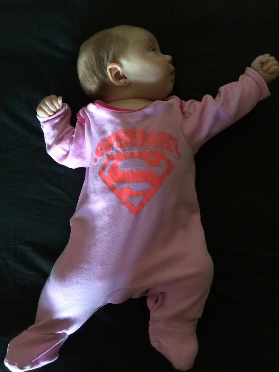 Even little Imogen Vass got in on the Superhero act!