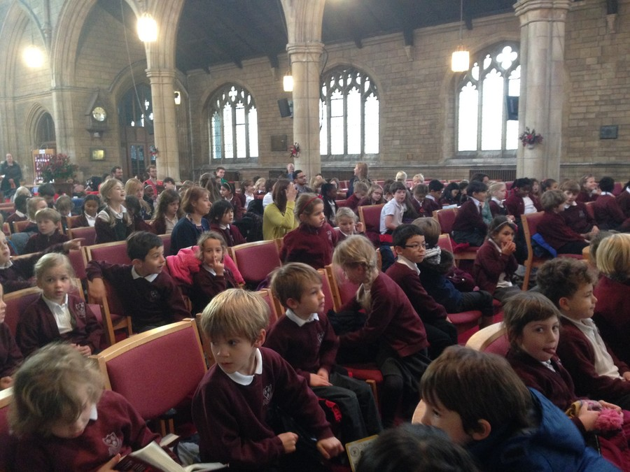 Our school Remembrance Service