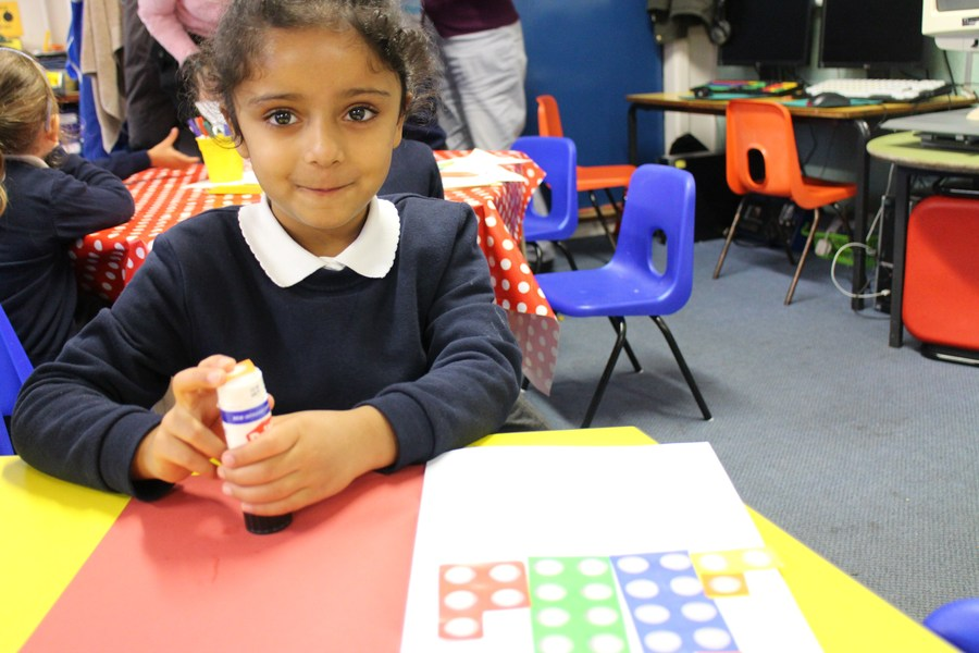 Numicon used throughout the Early Years