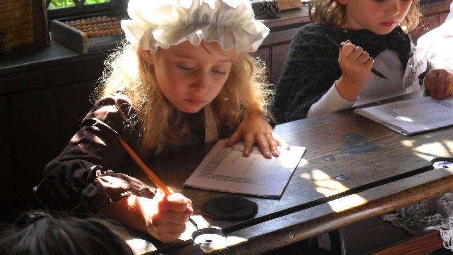 A Victorian School day at Sevington