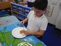 Making biscuit Gingerbread Cottages.JPG
