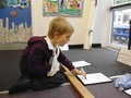 Writing the repeated addition on our numberline.JPG