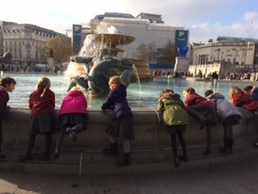 Year 2 at Trafalgar Square