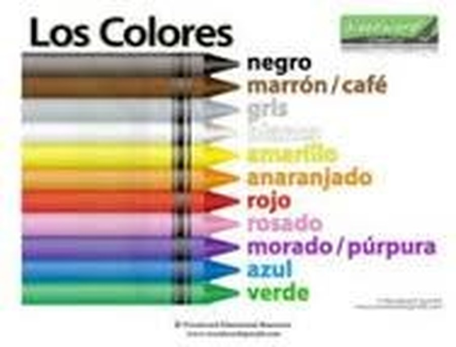 Learn your colours