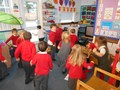 Hopping to the music in Foundation