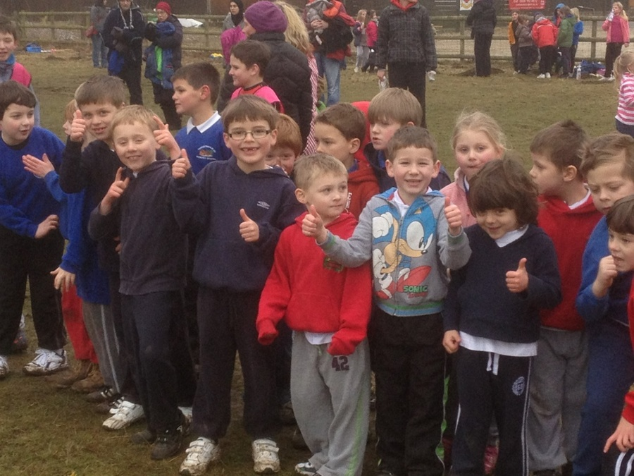 The infants getting ready to run!!