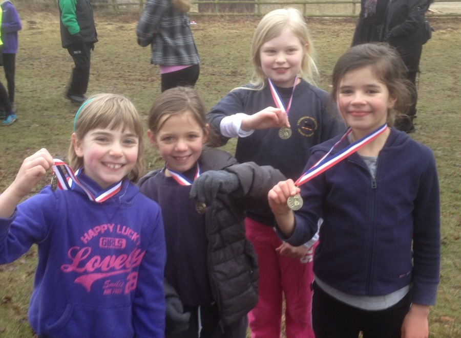 Our medal winners from Year 4