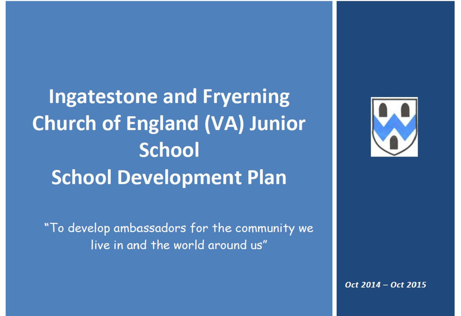 Click to read the School Development plan