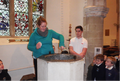 Year 1 learning about Baptism