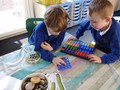 Using numicon to answer subtraction.JPG