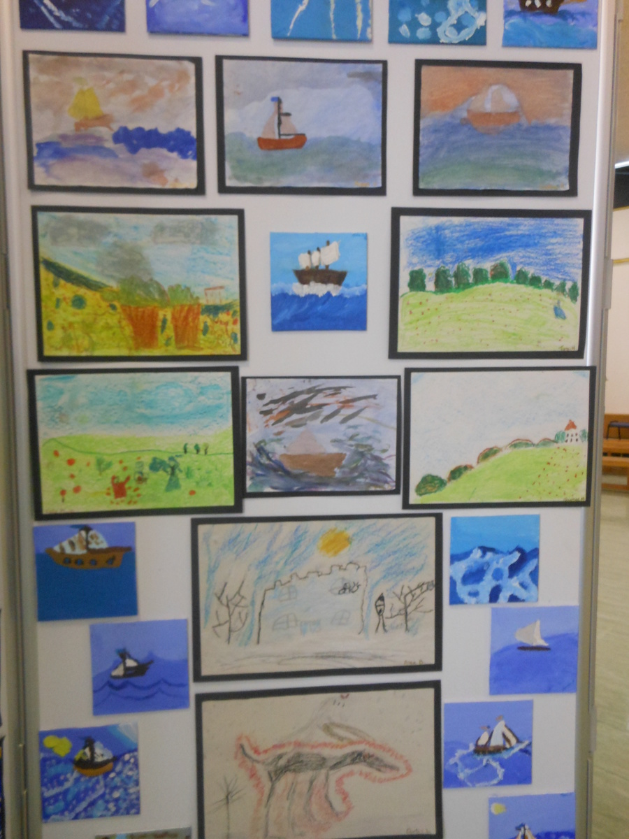 Year 3 & 4: art works