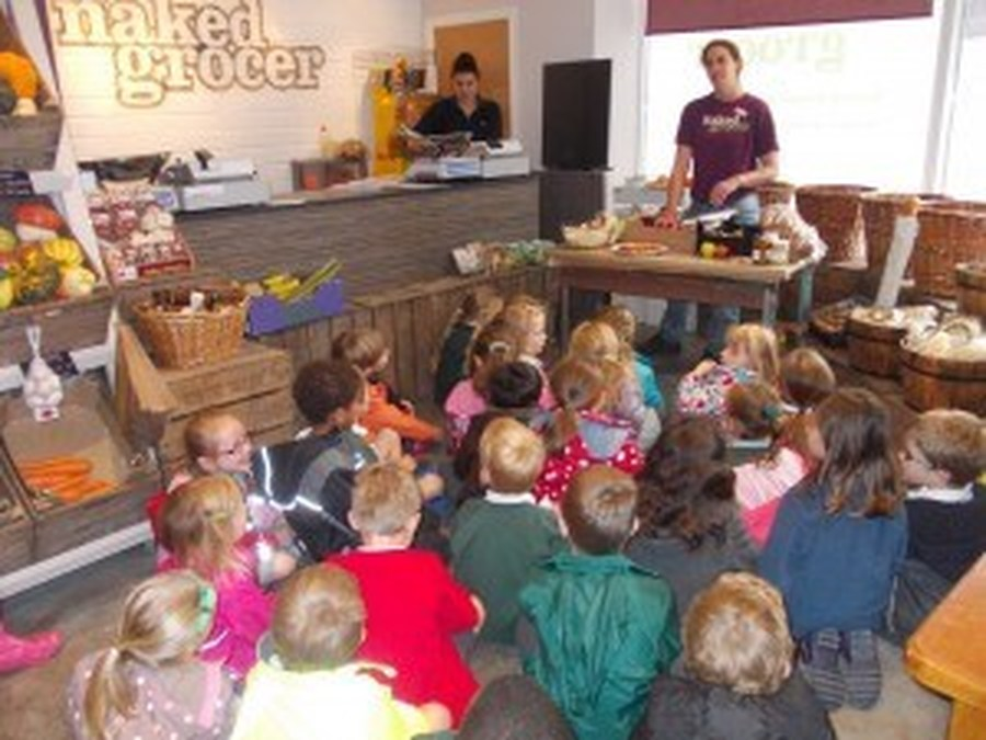 Year 2 Visit to the Naked Grocer, September 2013