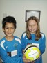 Year 4 representatives - Zain and Olivia