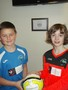 Year 5 representatives - Oscar and Emma
