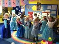 The Frozen Soundtrack was played for the children.