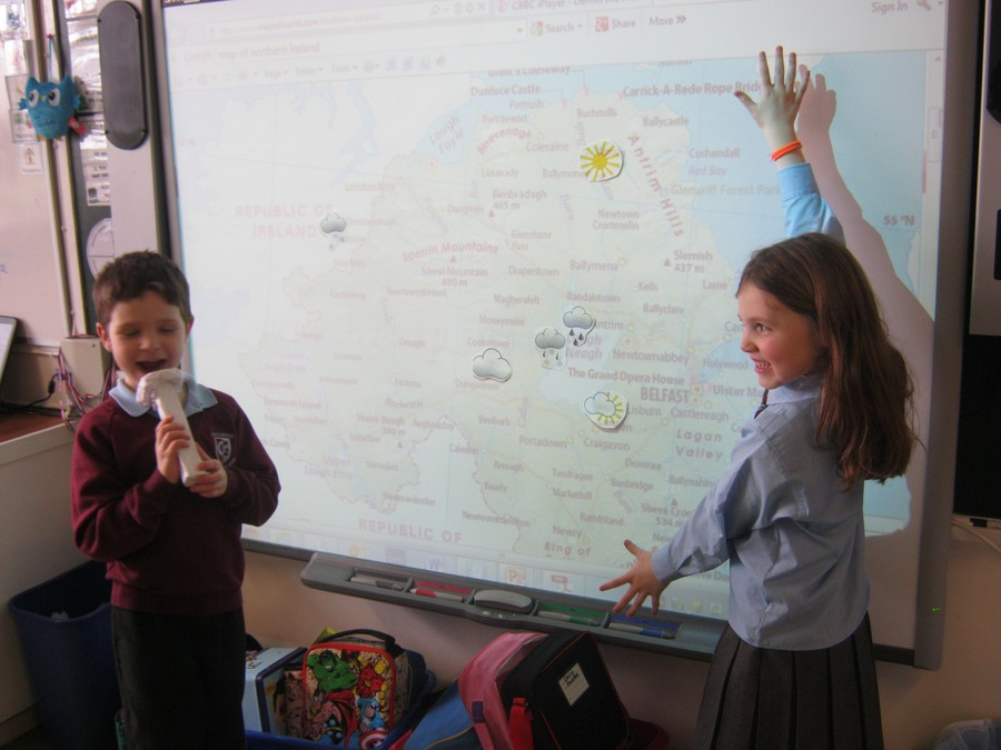 Weather forecasting role-play fun!