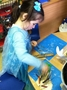 Such a great activity to fit in with our Frozen day!