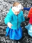 Our ice queens and princesses loved playing in the snow