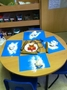 The children played with 'snowdough'!