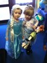 We had 'Queen Elsa's, Princess Anna's and Olaf's'!