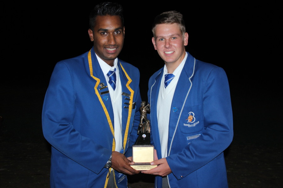 Keloyn and Byron - All rounders of the year
