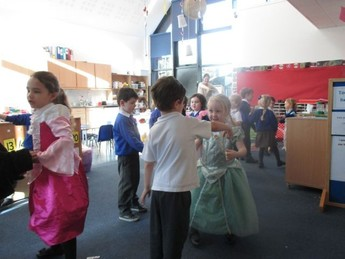 Dancing at the Vienna Ball as part of our 'What is Music' topic.