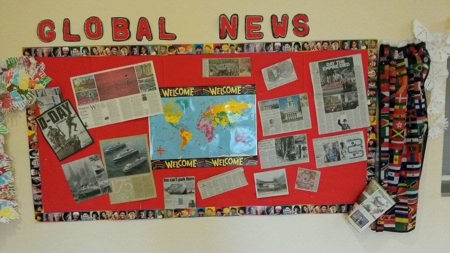Our Global News Board
