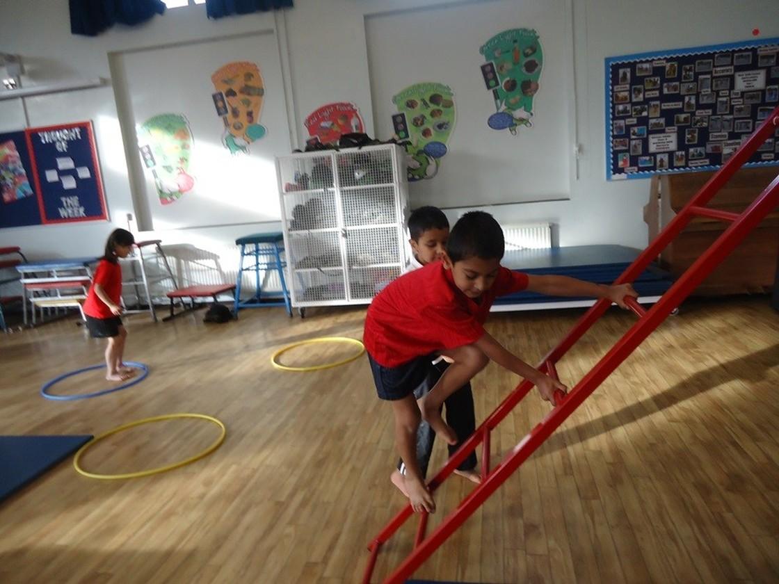 James Watt Primary School Gymnastics