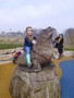 Luckily we didn't try to ride the real animals.JPG