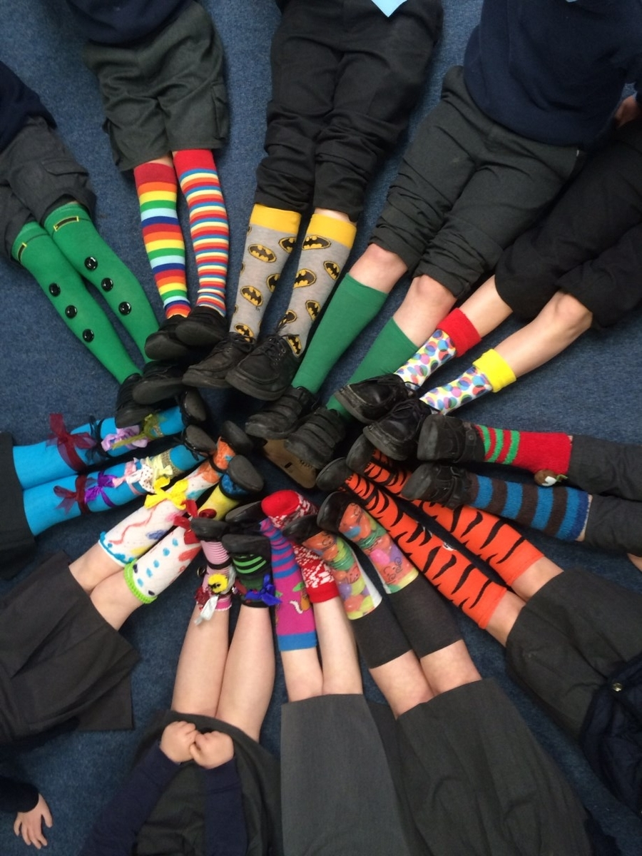 Lots of Socks - Down Syndrome Awareness Day