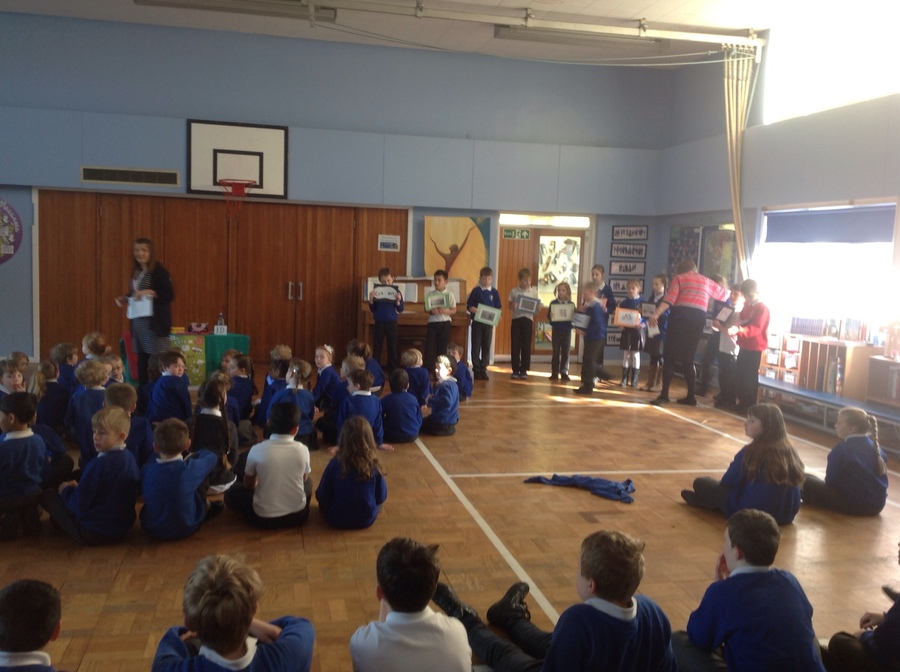 Thanks to Cath Pearson and Sandra White for our very informative CAFOD assembly.