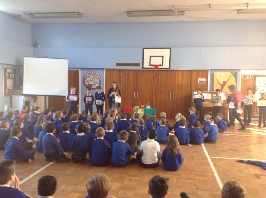 Our CAFOD assembly
