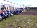 2W on the start line for their egg hunt.JPG
