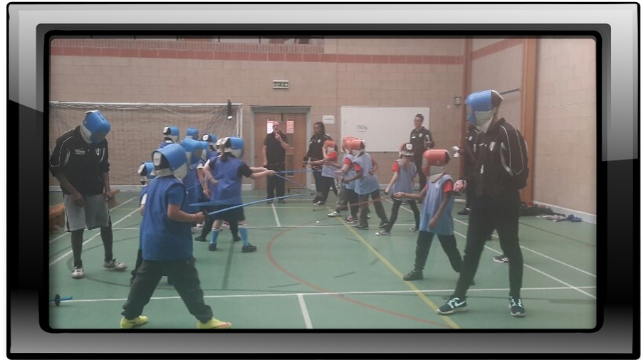 Fencing at Rush Green Primary