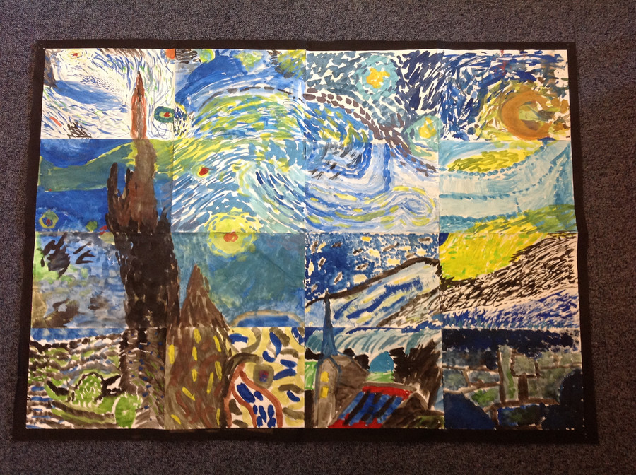 Year Five - Vincent Van Gogh