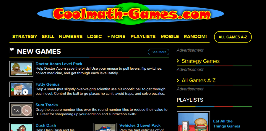 Cool Math-Games