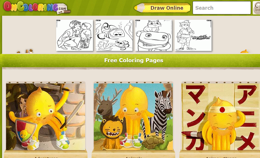 Online Colouring